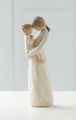 Willow Tree Tenderness Resin Figurine Family Keepsake Ornament Comfort Gift Box