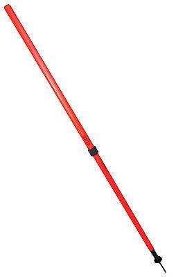 TRENAS Football Telescop Slalom Poles with Spring Base - Set of Eight - Durable