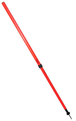 TRENAS Telescopical Slalom Poles with Spring Base - Sturdy and Durable