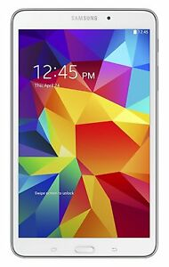 "Samsung Galaxy Tab 4 SM-T330 8"" 16GB 1.2GHz Android 4.4 Wi-Fi Tablet PC - White"