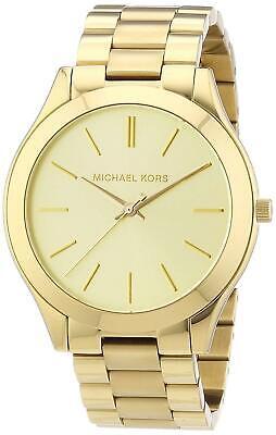 Michael Kors Women's Runway Gold Tone Stainless Steel Watch MK3179 8807