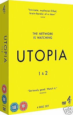 Utopia: Complete UK Series 1 + 2 ~~~~~BRAND NEW & SEALED
