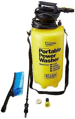 Streetwize Portable 10 Litre Car Home Garden Portable Power Jet Wash Washer