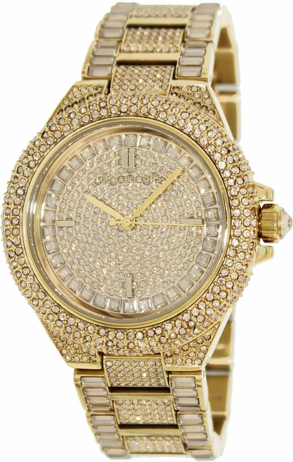 Michael Kors - Michael Kors MK5720 Women's Camille Gold Stainless-Steel Quartz Watch