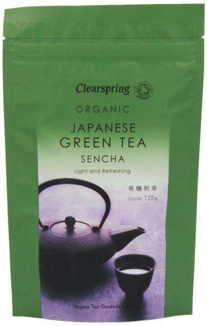 Clearspring Japanese Organic Green Tea Sencha 125g Loose * Light & Refreshing*