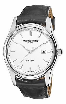 Frederique Constant Index Automtaic FC-303S6B6 Men's 43mm Silver Dial Watch