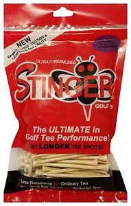 Stinger Golf Tees 3 Inch Pro XL, Bag of 200
