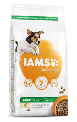 IAMS for Vitality Adult Small & Medium Dog Food with Lamb 2kg