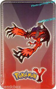 Housse pokemon rouge xy pour console nintendo 3 ds xl 3ds for Housse 3ds pokemon