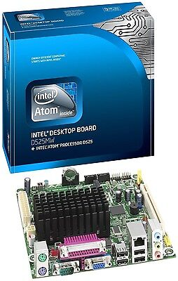 Mini Itx Retail Box - **NEW SEALED RETAIL BOX**Intel BOXD2550MUD2 Mini ITX Motherboard