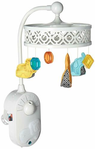 FisherPrice Jonathan Adler Projection Mobile Baby Crib Toy Music White Noise