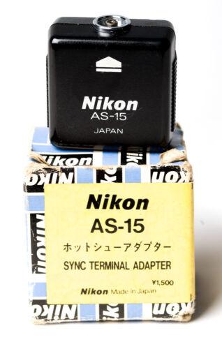 NIKON AS-15 SYNC TERMINAL ADAPTER  LN-