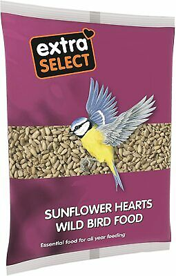 Extra Select Sunflower Hearts Wild Bird Food, 1 kg