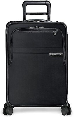 Briggs & Riley Baseline CX Expandable Carry-On Spinner Luggage, Black, $598