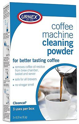 Coffee Maker Espresso Machine Cleaner Non Toxic Care Better Taste Urnex All