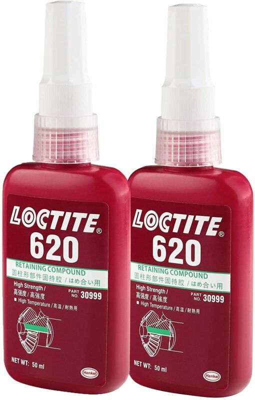 LOCTITE 620 Retaining Compound 50ml Bottle High Strength High Temperature