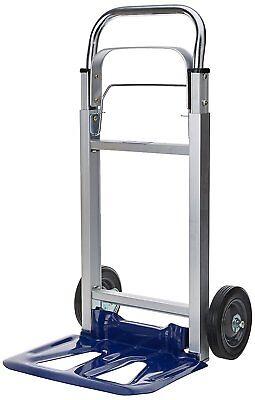 Compact Foldaway Heavy Duty Hand Sack Truck Folding Trolley Moving Cart Barrow