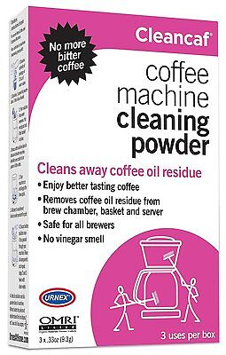 Coffee Machine Cleaner Espresso Cleaning Sprinkle 3 Pack