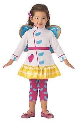 Nick New Girl Halloween Costume (Butterbean Butterbean's Cafe Nick Jr Fancy Dress Halloween Toddler Child)