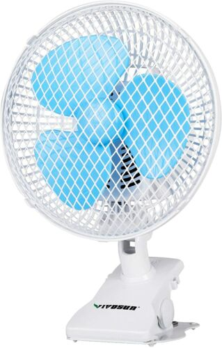 "VIVOSUN 6"" Portable Fan Adjustable Quiet 120°-180° Rang Rotation"
