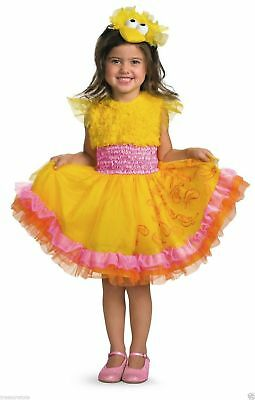 Toddler Girls Size 2T SESAME STREET  * BIG BIRD *   Costume Dress NWT / NIP