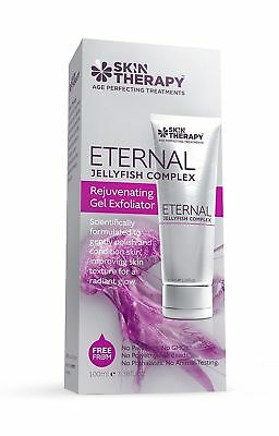 Skin Therapy Eternal Jellyfish Complex Rejuvenating Gel Exfoliator, 3.38 Fl (Eternity Skin)
