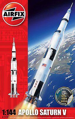 Airfix 1511170 Apollo Saturn V 1:144 Bausatz Modell Rakete Raumfahrt Modellbau