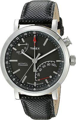 Timex Unisex Metropolitan Activity Tracker TW2P81700 42mm Black Dial Watch