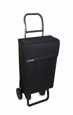 Carro de compras ROLSER JEA006, 4 ruedas, negro, carga máx 40kg, capacidad...