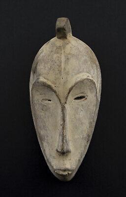 Masquette Mask African Fang Ngil Gabon Wood 15.5cm Art First 16698