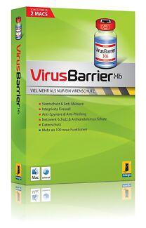 Intego VirusBarrier X6 Software Install DVD (Mac)
