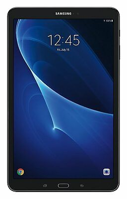 """NEW Samsung Galaxy Tab A 10.1"""" 1920x1200 SM-T580 16GB Octa-Core Exynos Black"""