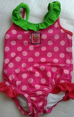 GEORGE, Baby Girls Swimsuit. Age 6-9 months. Very Good Condition
