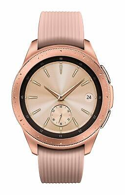 NEW Samsung Galaxy Watch Smartwatch 42mm Stainless Steel Rose Gold iOS + Android