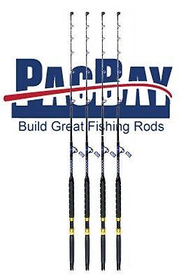 Set of 250 lb Saltwater Roller Fishing RodsCoastal Fishing