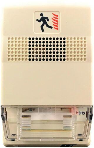 Genesis EST G1-HOV110 Temporal Horn/Strobe 24VDC/CC White New Old Stock