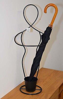 Design Schirmständer »Body« aus Metall Schirmhalter Regenschirmständer Deko NEU
