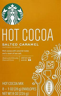 Starbucks Hot Cocoa Mix Salted Caramel, Best By: