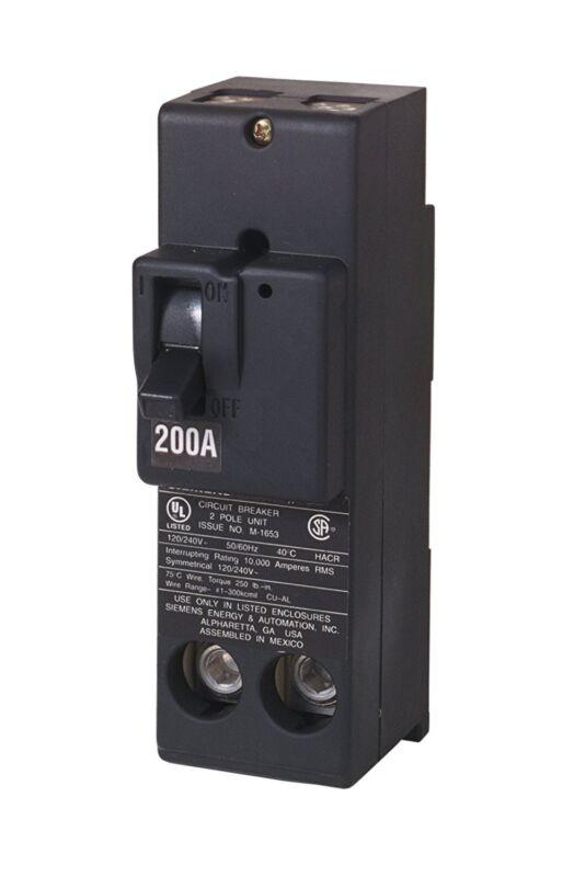 Siemens QN2200RH 200-Amp 2 Pole 240-Volt Circuit Breaker