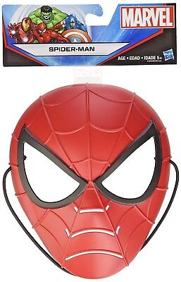 Marvel Spider-Man Mask by Hasbro Durable Thick Plastic w/Extra Thick Head Strap](Halloween Special Garfield)