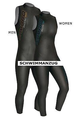 CAMARO NEOPREN 2019 SCHWIMMANZUG 7/8  BLACKTEC Gr. 36-56 MEN WOMEN TRIATHLON