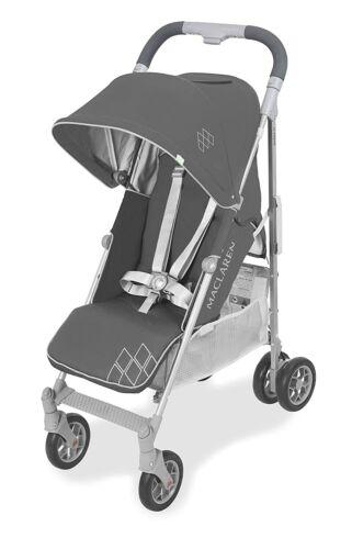 Maclaren 2021 Techno Arc Stroller, Charcoal/Silver + Rain Cover! - Store Display