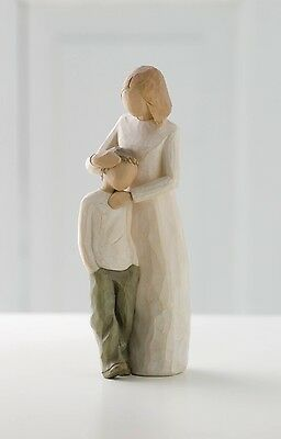 Willow Tree Mother & Son Resin Figurine Family Keepsake Ornament Birthday Gift