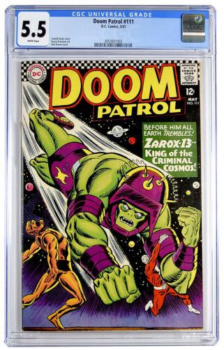 Doom Patrol #111 CGC 5.5