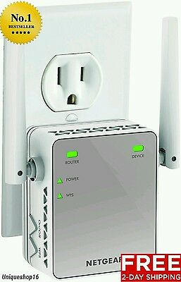 New Wireless Wifi Internet Range Extender Booster Router Increase Signal Plug In