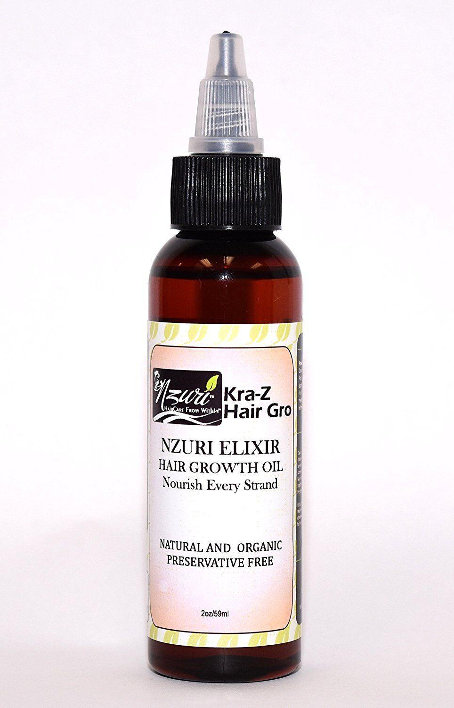 Nzuri Elixir Kra-Z Hair Growth Herbal Hair Vitamin Infused
