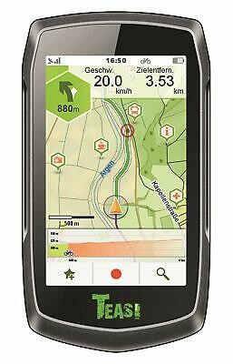 Teasi One Classic (Outdoor GPS Navigationsgerät, Fahrrad, Wandern)