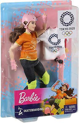 Barbie Olympic Games Skateboarding Doll *BRAND NEW*
