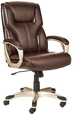 La-Z-Boy Big And Tall Leather Executive Office Chair With Wh