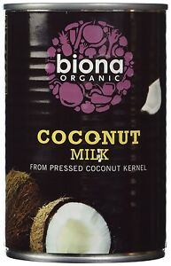 Biona Organic Coconut Milk 400 ml Pack of 6
